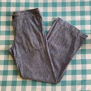 Anthro Pilcro linen cotton pants size 8